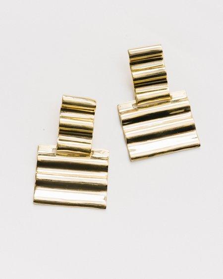 Luiny Onda Earrings #1 - bronze