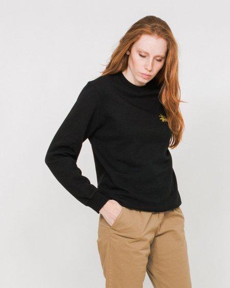 Stussy W Basic Logo Crew Sweater - Black