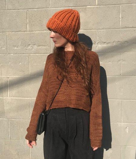 Atelier Delphine Luna Cashmere Alpaca Sweater - Pure Amber