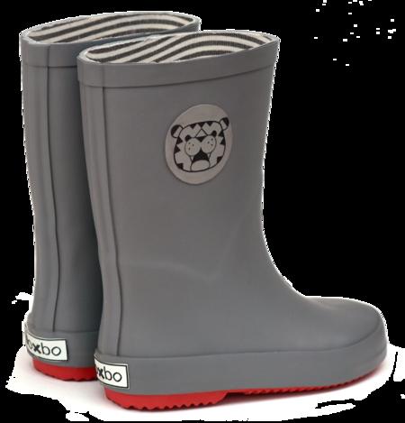 KIDS Boxbo nautes Rain Boots - GREY