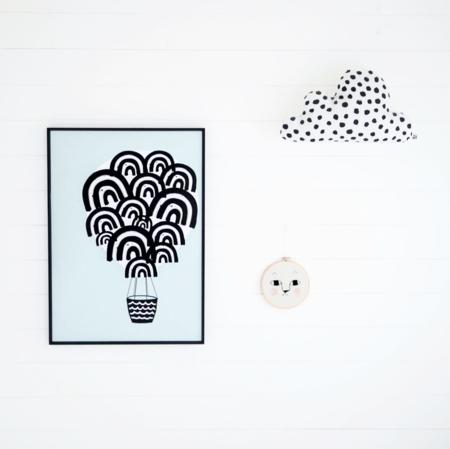KIDS WONDER & RAH Hot Air Balloon Poster - MINT