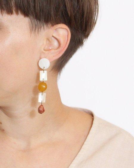 Paloma Wool Magali Earrings - White
