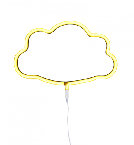 A Little Lovely Company Neon Style Cloud Light