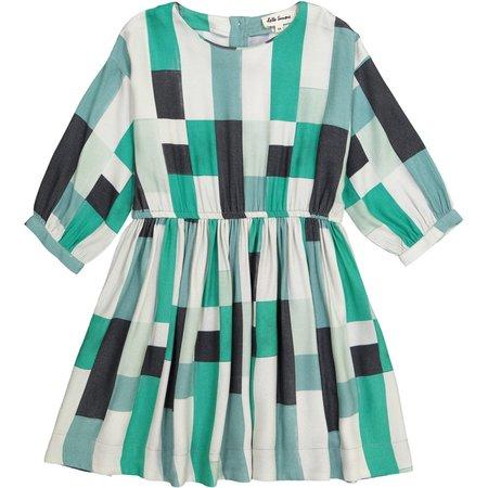 KIDS HELLO SIMONE Thetis Dress - GREEN