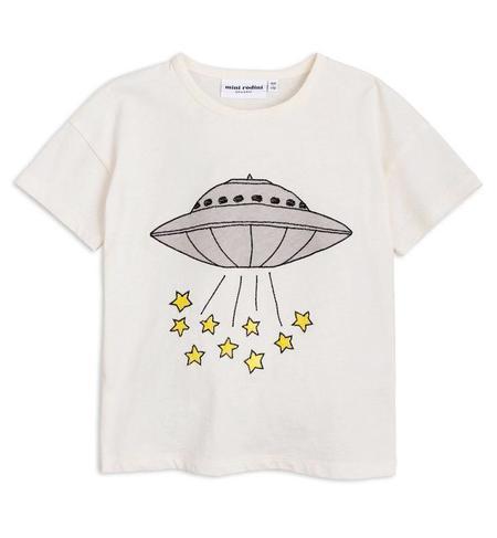 KIDS Mini Rodini UFO Tee - WHITE