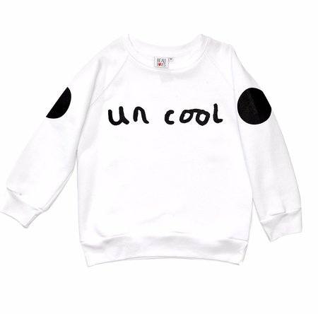 KIDS Beau Loves Uncool Jumper - WHITE