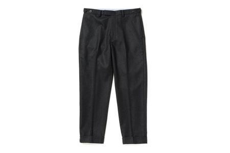 Beams + Flannel Trousers - Charcoal