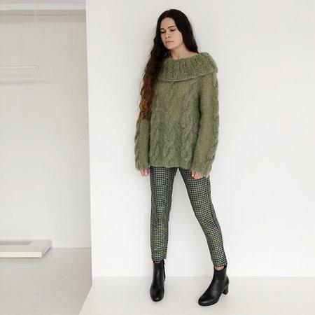 Vintage Johan Mohair Sweater - Jade