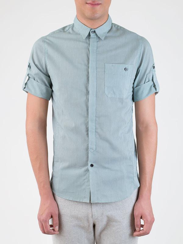 Men's Kai-Aakmann Stripe Button Up Shirt
