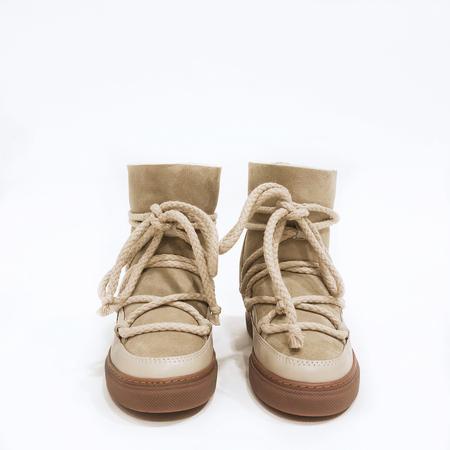 INUIKII WEDGE CLASSIC BOOT - BEIGE