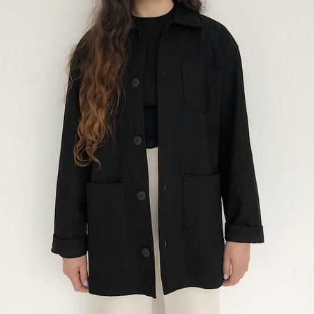 Laurs Kemp Workwear Jacket - Black