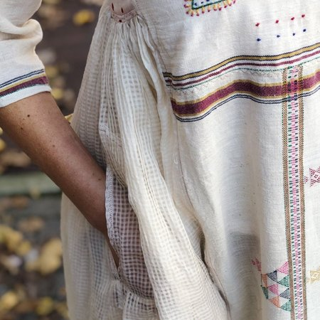 Injiri Handwoven Embroidered Patchwork Dress