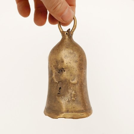 Made Solid Vintage Sudanese Goat Bell - Brass