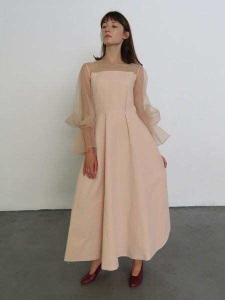REJINA PYO LOIS DRESS - BLUSH