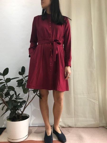 PEPALOVES BONNIE DRESS - WINE