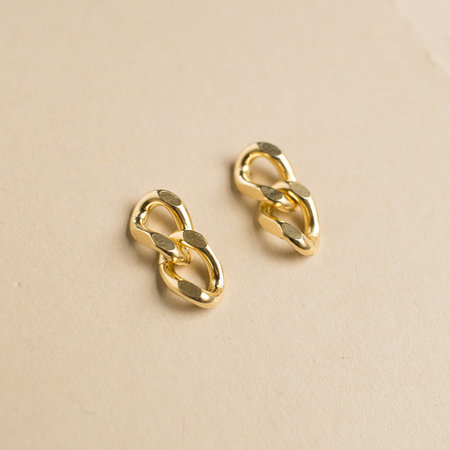 1978 By Merewif Link II Studs - Gold