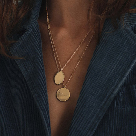 1978 By Merewif Heroine Necklace - Gold