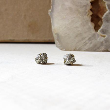 Robindira Unsworth Stud Earrings - Pyrite