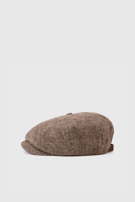 Brixton Brood Adjustable Snap Cap - Brown/Tan