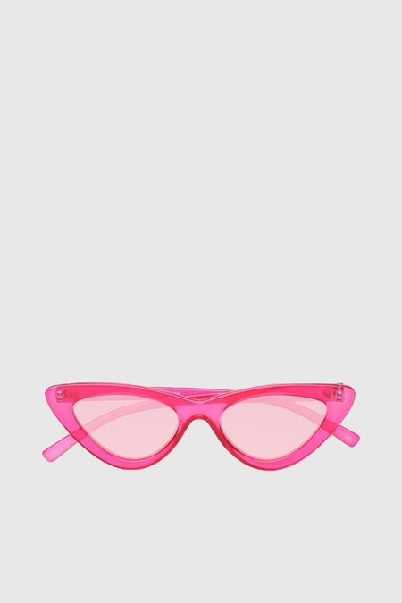 Le Specs The Last Lolita - Crystal Hot Pink