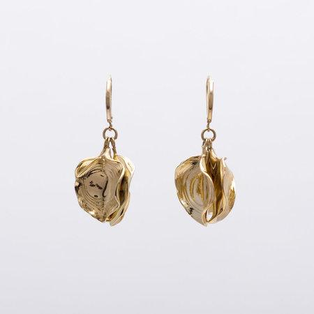 Leigh Miller Bougainvillea Earrings - Gold