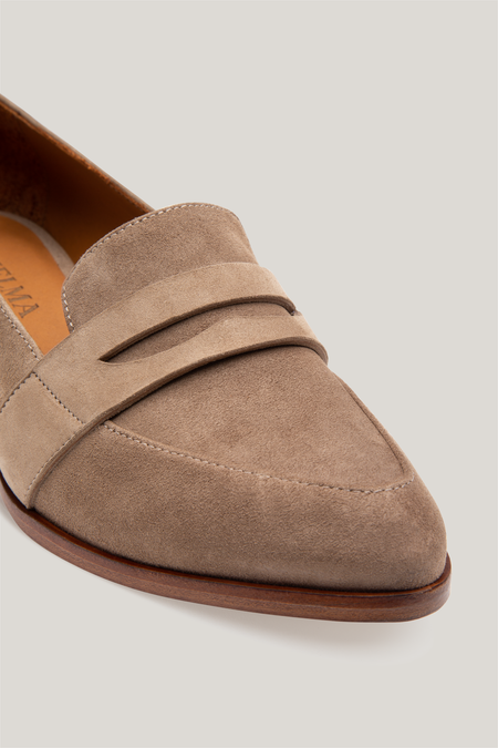 Thelma The Penny Loafer - Cappuccino