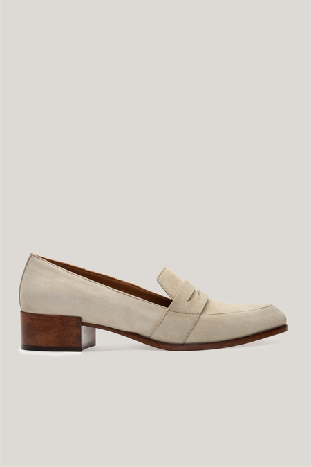 Thelma The Penny Loafer - Pebble
