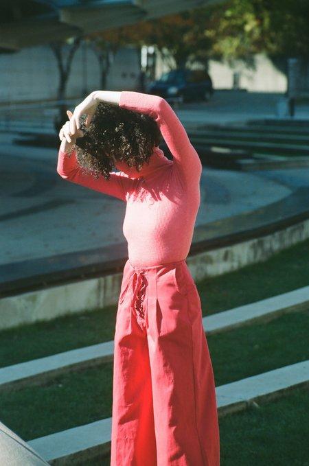Ajaie Alaie Bottomless Pants - Rojo