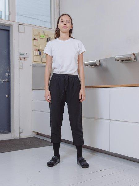 Priory Shop Tencel/Cupro Yu Pant - Matte Black