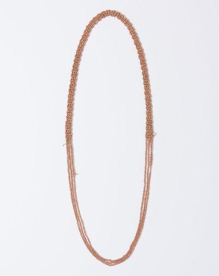 Arielle De Pinto The Slim Necklace - Rose Gold