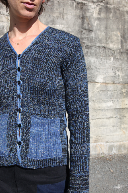 Intensity Cardigan - Midnight Sky