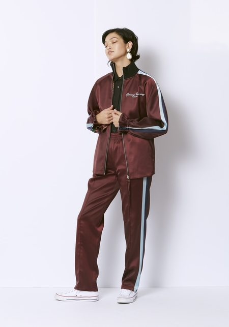 Opening Ceremony Reversible Souvenir Jacket -  Burgundy