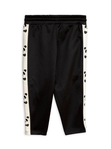 KIDS Mini Rodini Panda WCT Pants - BLACK