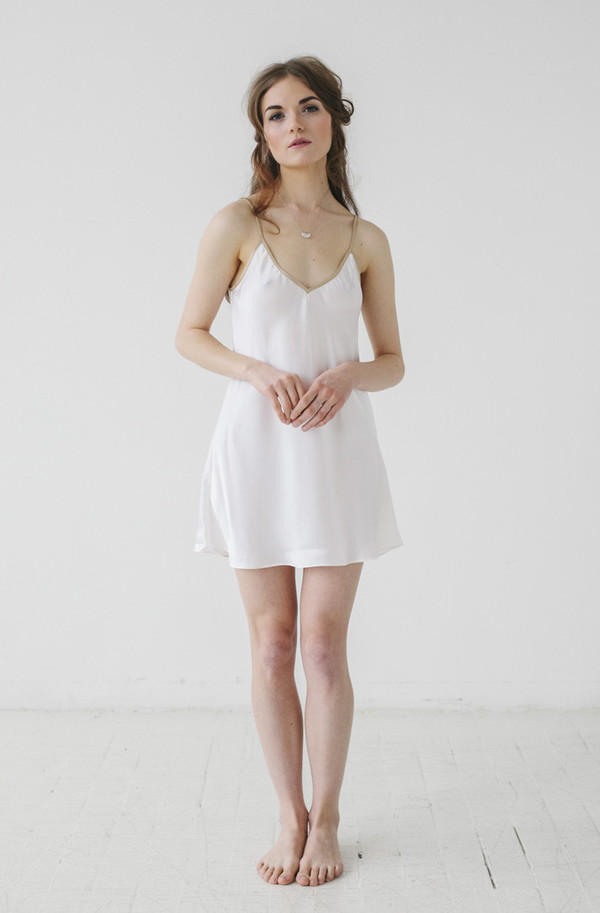 Salua Atelier Emma Silk Chemise