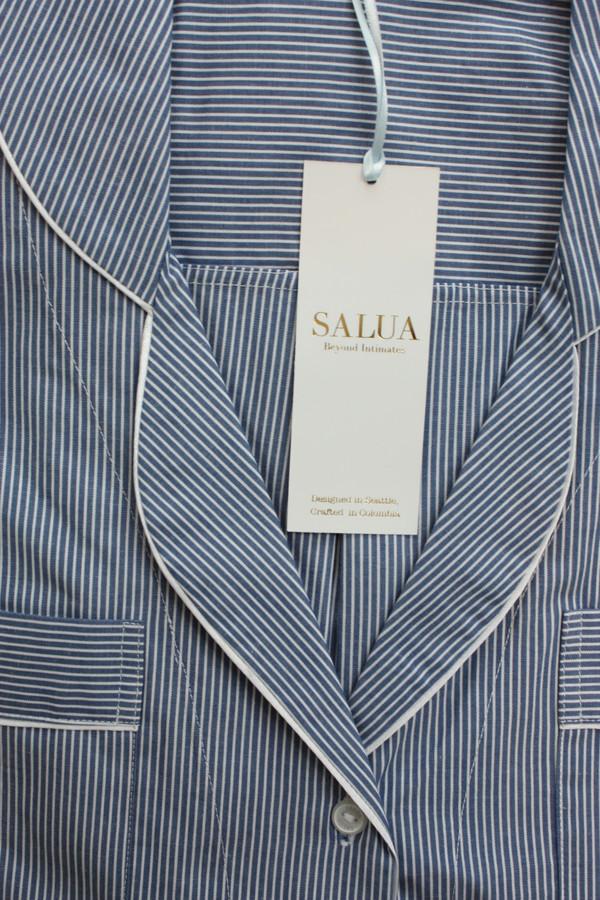 Salua Atelier Striped Boyfriend PJ Shirt