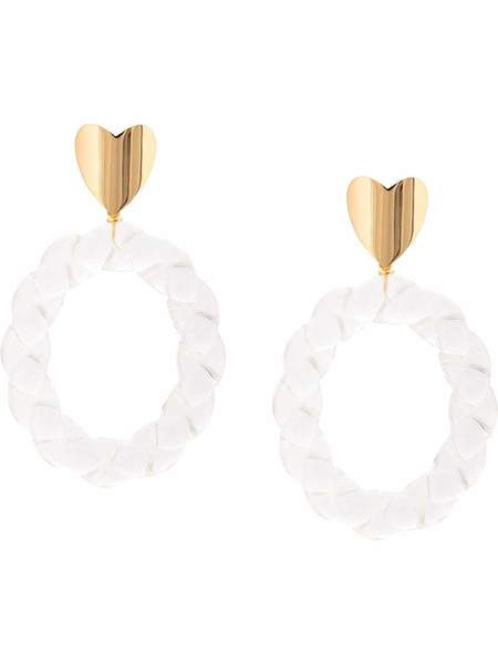Lizzie Fortunato Saint Valentine Earrings - Gold