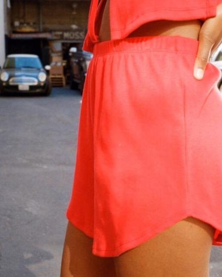 Lisa Says Gah Mia Shorts - Cherry