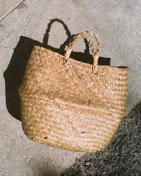 Peso Vintage Handwoven Straw Bag