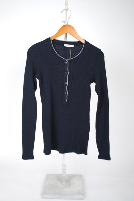 Stateside Thermal Henley - NAVY