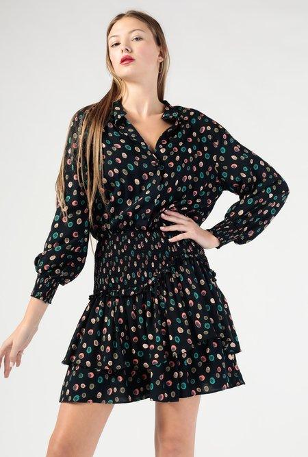 Azalea Kleo LS Cinched Waist Dress