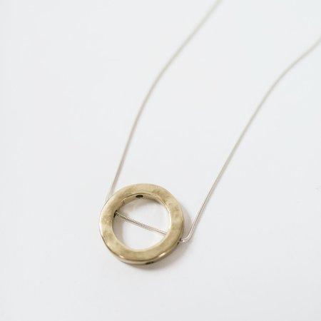 Kiki Koyote Eclipse Necklace - Brass