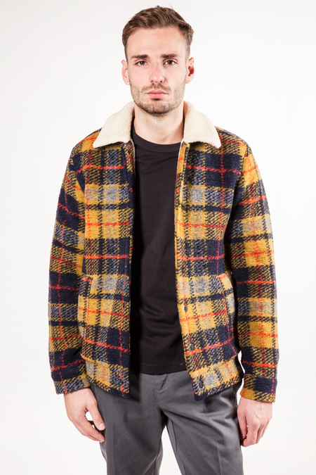Scotch & Soda Wool Jacket - CHECKED