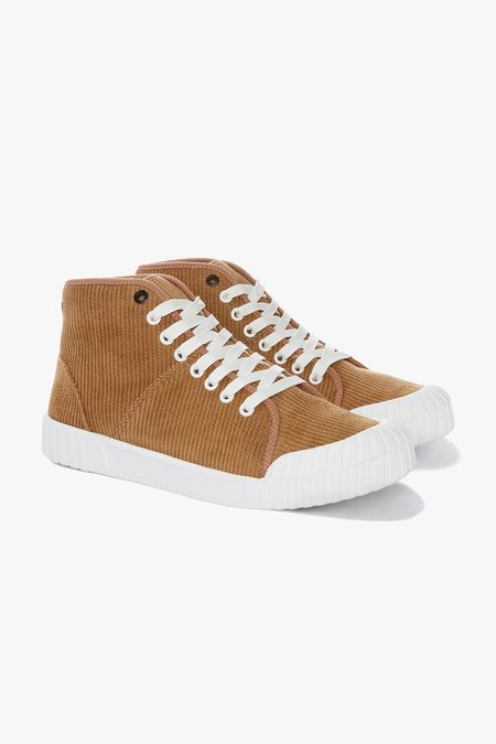 Good News Rhubarb Hi Organic Cotton Sneakers - Tan