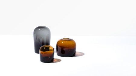 Menu Troll Vase - Amber