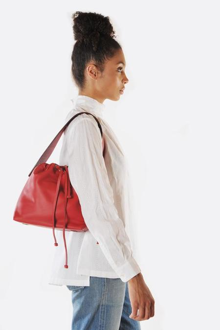 Bonastre Medium Lune Bag - Red