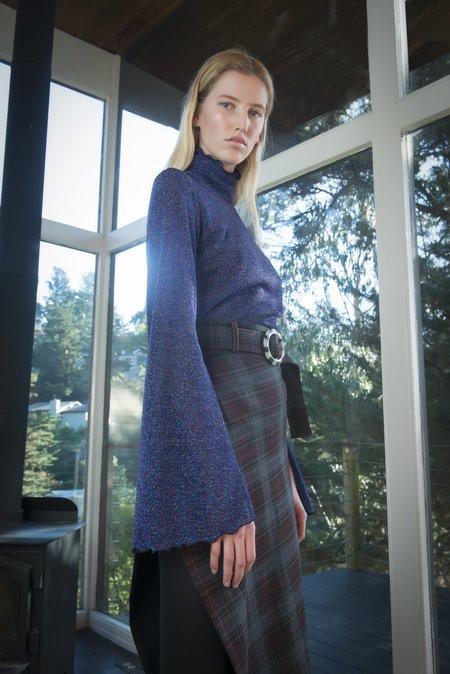 Nika Tang Giselle Top - Royal Blue