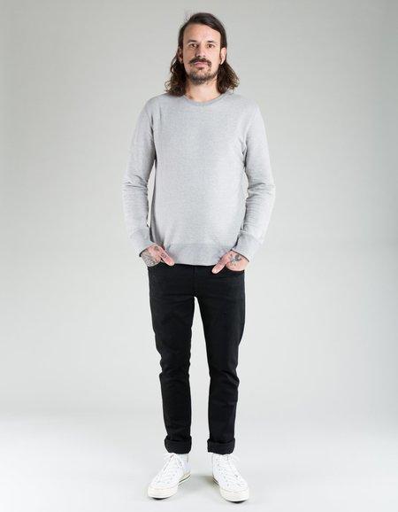 Nudie Evert Light Sweatshirt - Grey Melange