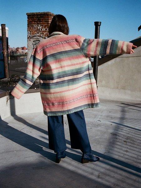 Vintage Portia & Manny Vintage Woolrich Coat - Pink Southwest