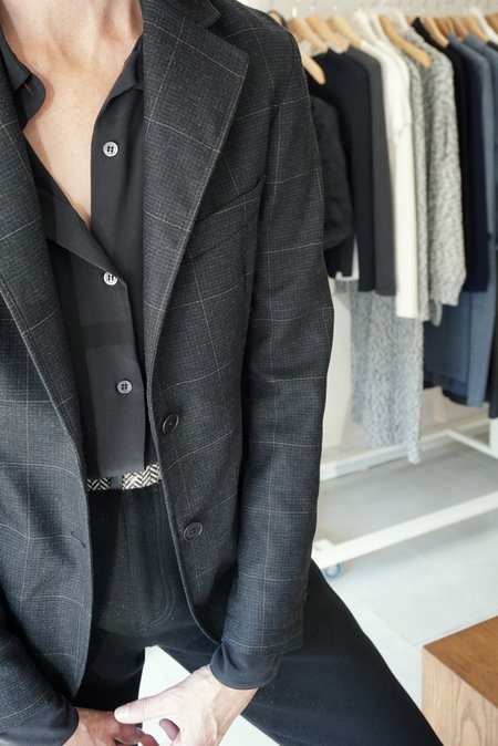 Barena Germana Jacket  - Charcoal