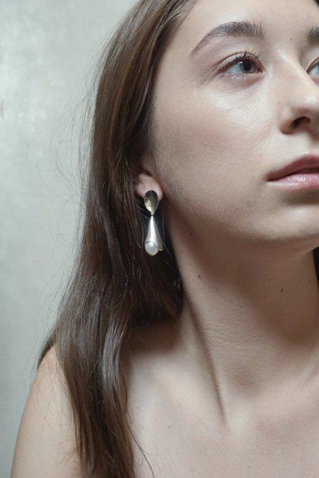 Sophie Buhai Pearl Drop Earrings - Silver